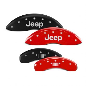 MGP® - Caliper Covers with JEEP / Grill Logo Engraving