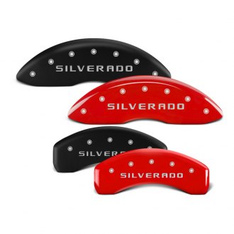 MGP® - Caliper Covers with Silverado Engraving