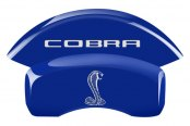 MGP® - Custom Caliper Covers with Cobra Tiffany Snake Logo