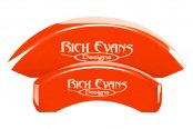 MGP® - Custom Caliper Covers with Rich Evans Designs Logo