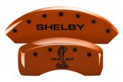 MGP® - Custom Caliper Covers with Shelby Tiffany Snake Logo