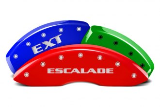 MGP® 35014SEXTDF - Custom Colors Caliper Covers with Escalade / EXT Engraving