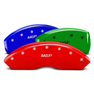 MGP® - Custom Colors Caliper Covers with MGP Engraving (Full Kit, 4 pcs)