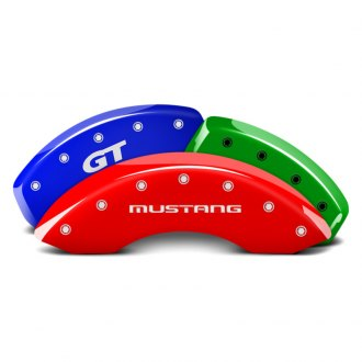 MGP® - Custom Colors Caliper Covers with Mustang / GT SN95 Engraving (Full Kit, 4 pcs)