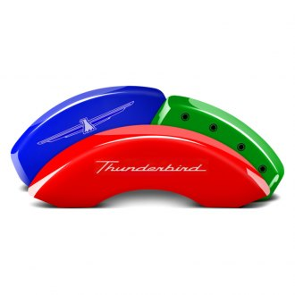 MGP® - Custom Colors Caliper Covers with Thunderbird Engraving