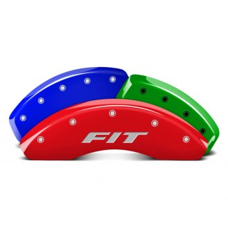 MGP® - Custom Colors Front Caliper Covers with Fit Engraving