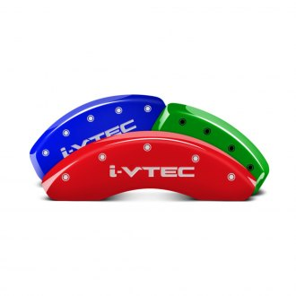 MGP® - Custom Colors Caliper Covers with i-Vtec Engraving (Full Kit, 4 pcs)