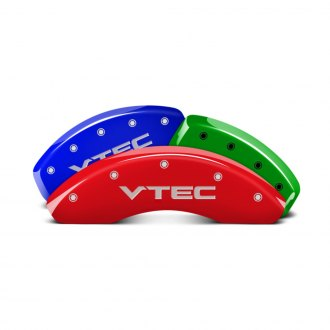 MGP® - Custom Colors Caliper Covers with Vtec Engraving (Full Kit, 4 pcs)