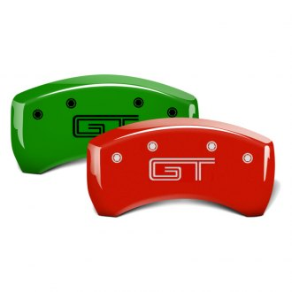 MGP® - Custom Colors Rear Caliper Covers with GT Engraving