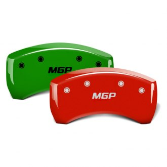 MGP® - Custom Colors Rear Caliper Covers with MGP Engraving
