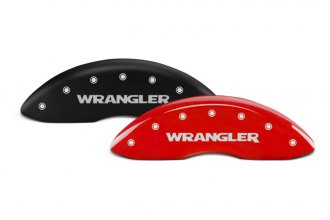 MGP® - Caliper Covers with Wrangler Engraving