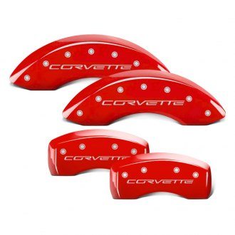 MGP® - Gloss Red Caliper Covers with Engravings