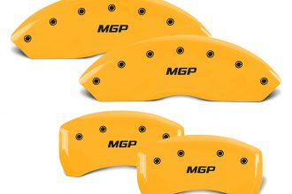 MGP® - Gloss Yellow Front and Rear Caliper Covers with MGP Engraving