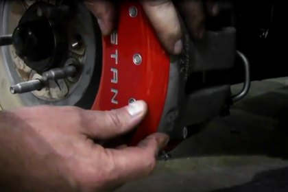 MGP® - Caliper Covers Installation on 2011 Ford Mustang