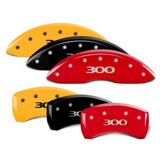 MGP® - Caliper Covers with 300 Engraving (Full Kit, 4 pcs)