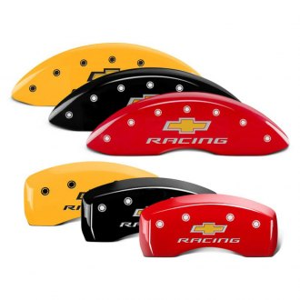 MGP® - Caliper Covers with Chevy Racing Engraving (Full Kit, 4 pcs)