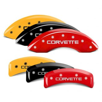 MGP® - Caliper Covers with Corvette C4 Engraving (Full Kit, 4 pcs)