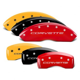 MGP® - Caliper Covers with Corvette C5 Engraving (Full Kit, 4 pcs)