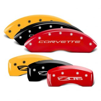 MGP® - Caliper Covers with Corvette / Z06 Engraving (Full Kit, 4 pcs)