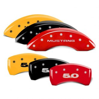 MGP® - Caliper Covers with Mustang / 5.0 Engraving