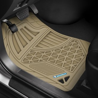 Michelin® - EdgeLiner Tan All-Weather Rubber Floor Mats