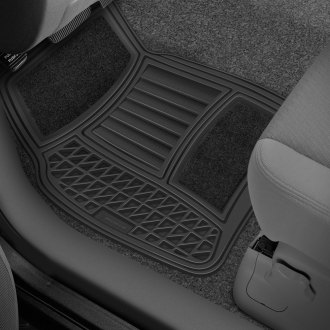 Michelin® - EdgeLiner Black Carpet Rubber Floor Mats