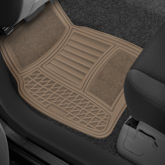 Michelin® - EdgeLiner Tan Carpet Rubber Floor Mats