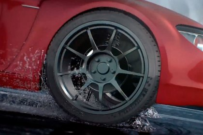 MICHELIN® Michelin Pilot Sport A/S 3 Tire Driving In Wet Conditions (Full HD)