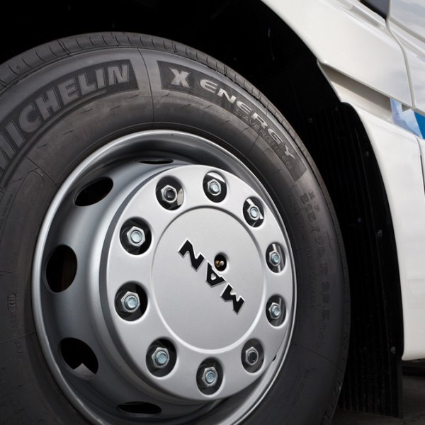 MICHELIN® - X-Energy Tires on MAN