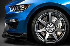 MICHELIN® - Tires on Mustang GT 350 2016