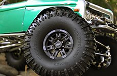 MICKEY THOMPSON® - SIDEBITER II Satin Black on Ford Bronco