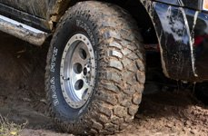 MICKEY THOMPSON® - Baja MTZ Radial Tires on Chevy Silverado