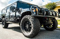 MICKEY THOMPSON® - Baja MTZ Radial Tires on Hummer H2