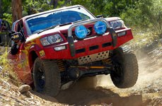 MICKEY THOMPSON® - Baja MTZ Radial Tires on Nissan Patrol