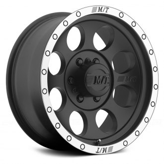 MICKEY THOMPSON® - CLASSIC BAJA LOCK Matte Black with Machined Flange