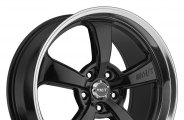 MICKEY THOMPSON® - SC-5 Gloss Black with Mirror Machined Lip