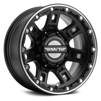 MICKEY THOMPSON® - SIDEBITER LOCK Satin Black with Machined Accents