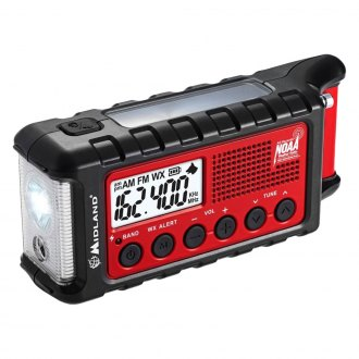 Midland® - Weather Alert Digital Emergency Crank AM/FM Radio