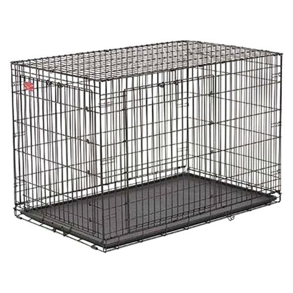 Midwest Pet®   Life Stage A.C.E.™ Black Double Door Dog Crate
