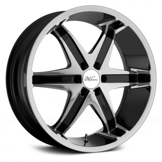 MILANNI® - KOOL WHIP 6 Gloss Black with Machined Face