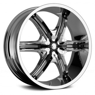 MILANNI® - BEL AIR 6 Chrome with Black Inserts