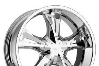 "MILANNI® - BITCHIN Chrome (18"" x 8"", +6 Offset, 5x120.65 Bolt Pattern, 83mm Hub)"