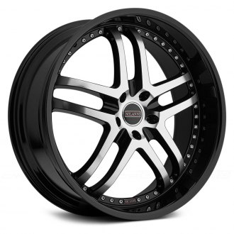 MILANNI® - KAPRI Gloss Black with Mirror Machined Face