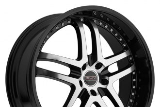 "MILANNI® - KAPRI Gloss Black with Mirror Machined Face (18"" x 8.5"", +38 Offset, 5x120.65 Bolt Pattern, 72.6mm Hub)"