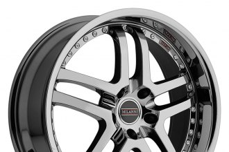 "MILANNI® - KAPRI Phantom Chrome (18"" x 8.5"", +12 Offset, 5x114.3 Bolt Pattern, 73.1mm Hub)"