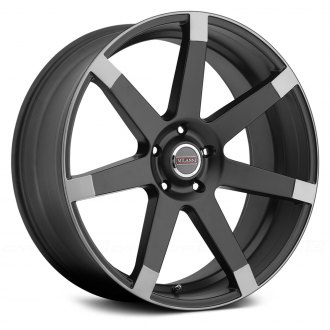 MILANNI® - SULTAN Matte Black with Anthracite Flange