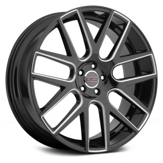 MILANNI® - VIRTUE Gloss Black with Milled Accents