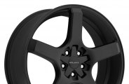 "MILANNI® - VK-1 Satin Black (18"" x 8"", +38 Offset, 5x112 Bolt Pattern, 73.1mm Hub)"