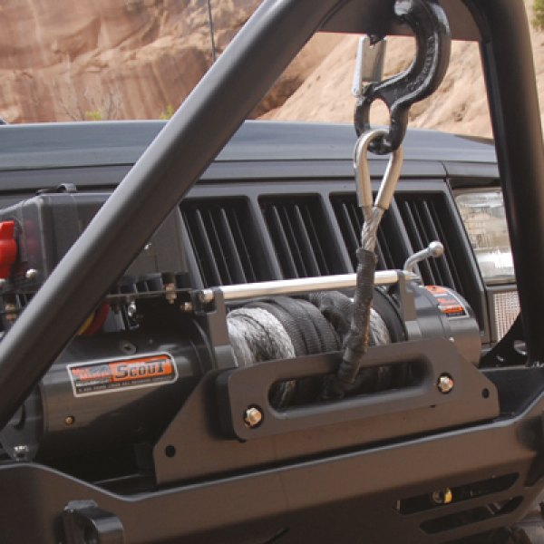 MILE MARKER® - Scout Winch on Jeep Cherokee