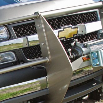 MILE MARKER® - Chrome Winch Mounting System on Chevy